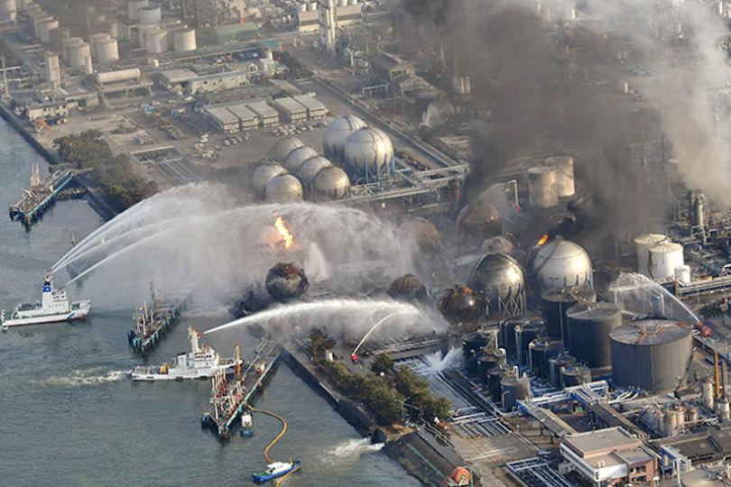 La catastrophe de Fukushima au Japon qui a eu lieu le 11 mars 2011