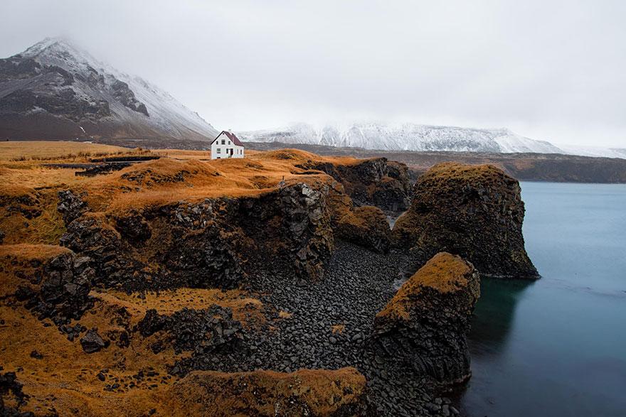 maison-Arnarstapi, Islande