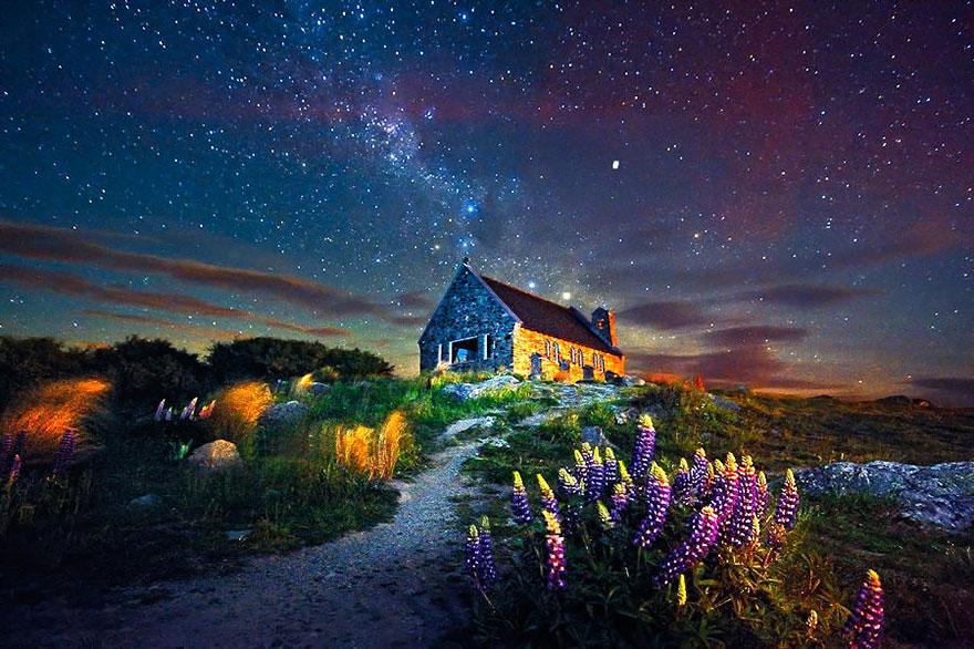 maison-Lake Tekapo, Nouvelle-Zélande