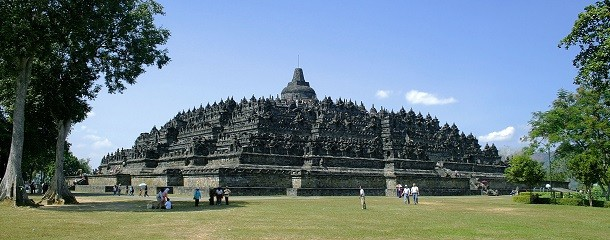 monument-Borobudur, Java, Indonésie