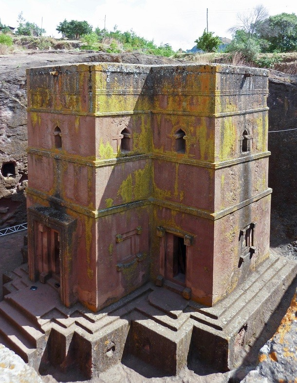 monument-Igrejas Subterranean Lalibela, Ethiopie