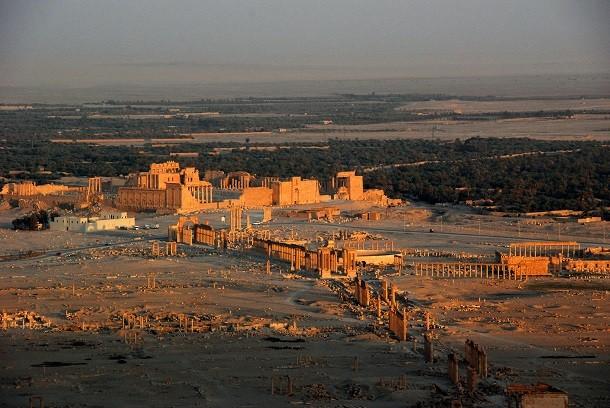 monument-Palmyre, en Syrie