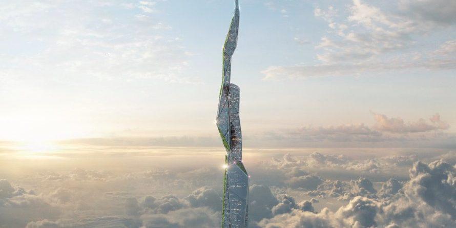 Et si la tour la plus haute du monde tait finalement am ricaine la terre - Projet tour la plus haute du monde ...