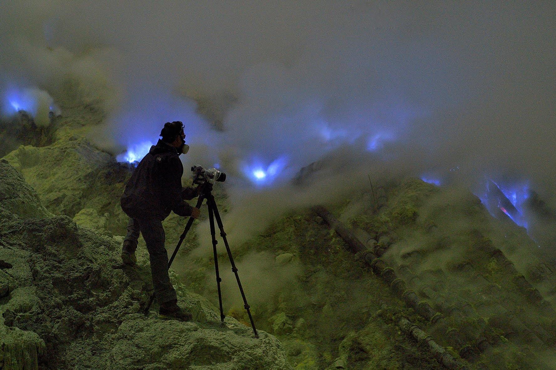 La nature incroyable Volcan-Kawah-Ijen-4