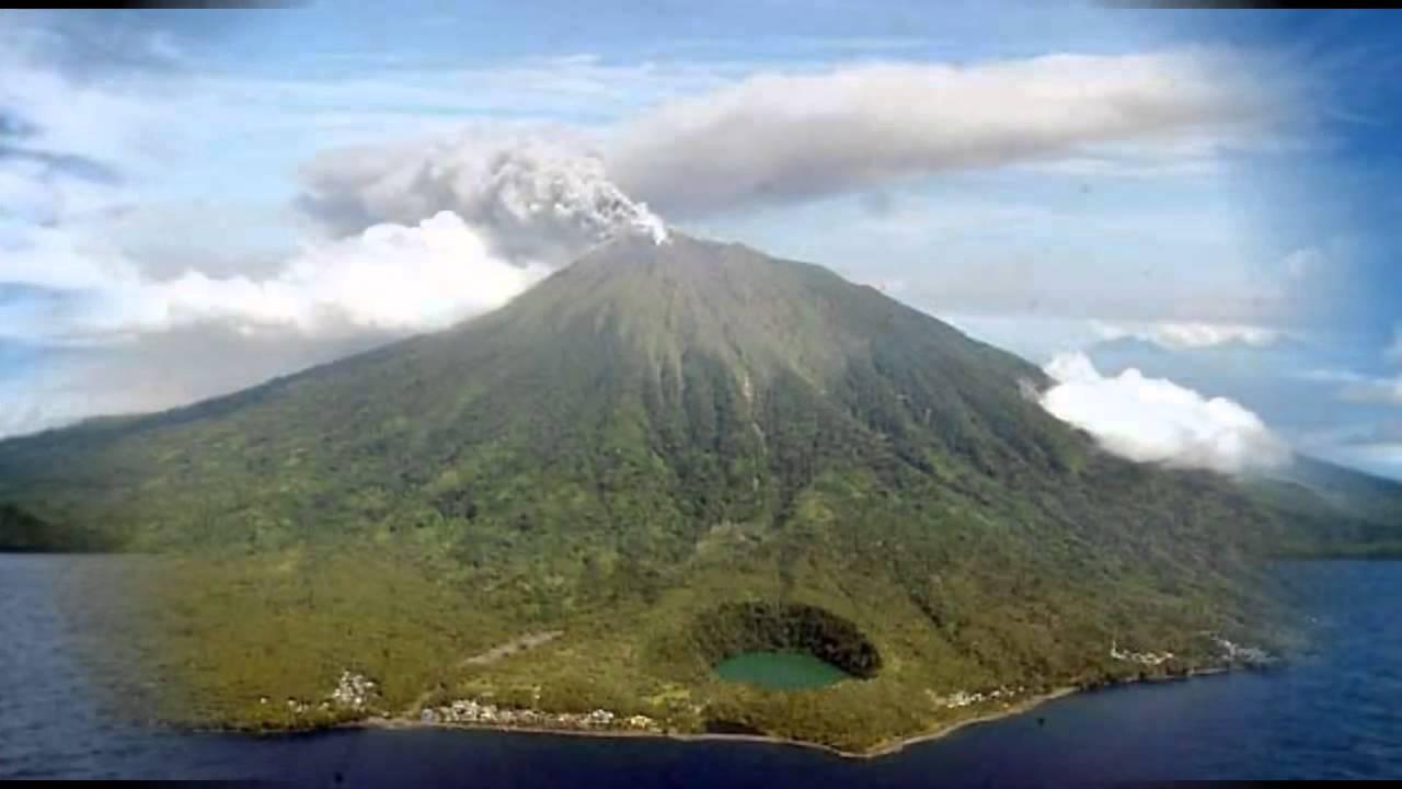 Karangetang-volcan