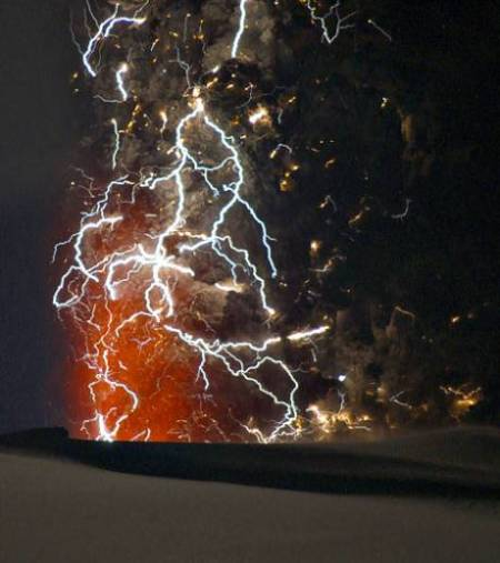 panache volcanique