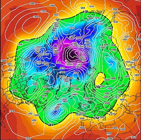 situation météo 17 decembre 2012