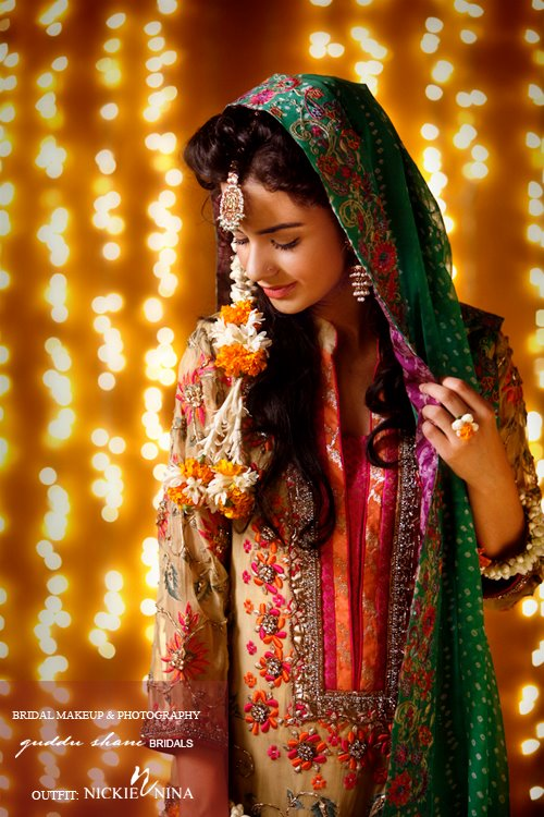 Bridal Mehndi Makeup Bridal Makeup Trends 2012