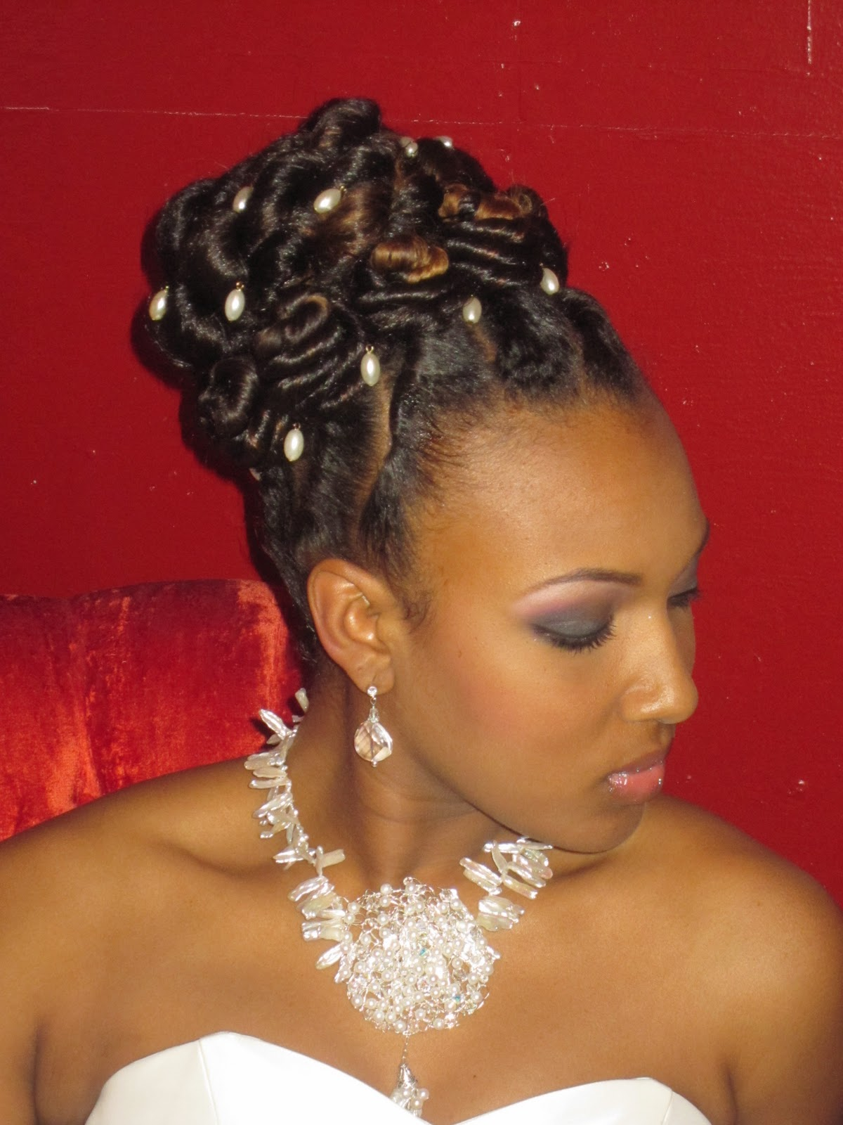 Natural Updo Hairstyles for Black women Prom Hairstyles 2014