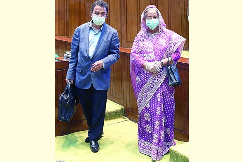 shekh hasina and kamal