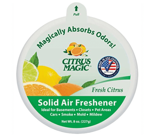Citrus Magic Solid Air Freshener for your Car