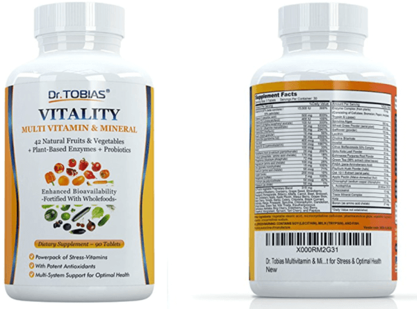 Dr. Tobias Multivitamin & Mineral Plus Enzymes