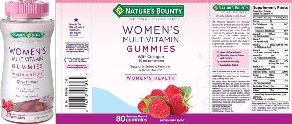 Nature's Bounty Optimal Solutions Multivitamin for Women