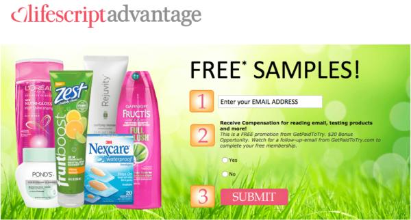 FREE Shower Fresh Samples