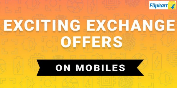 Exchange Offer on Mobile at Flipkart