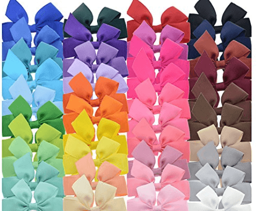 Grosgrain Ribbon Child Hair Bows