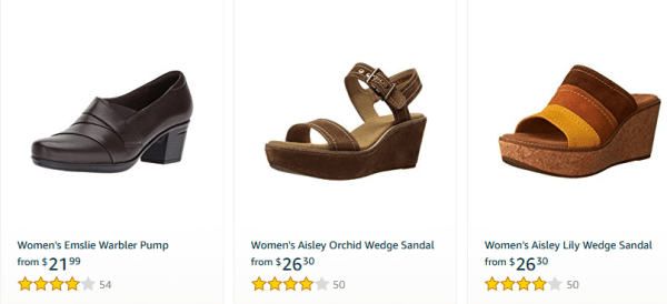clarks shoes at amazon
