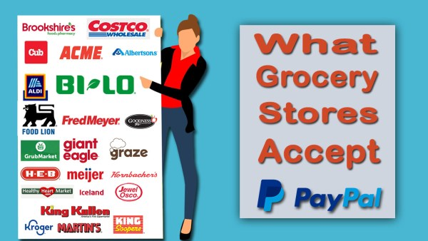What Grocery Stores Accept PayPal