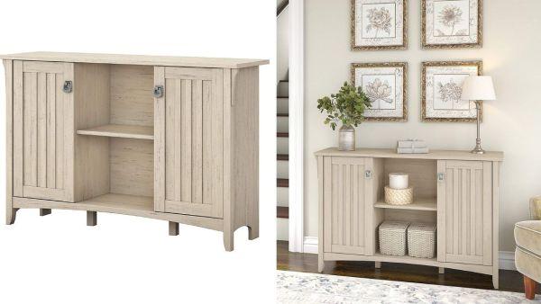 Bush Furniture Salinas Accent Storage Cabinet.