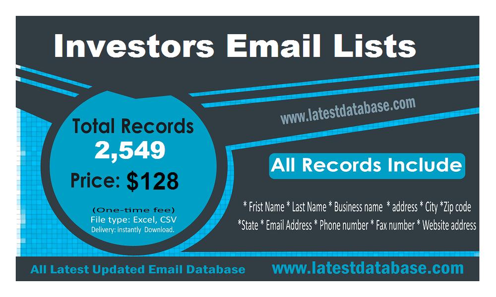 Investoru e-pasta saraksti