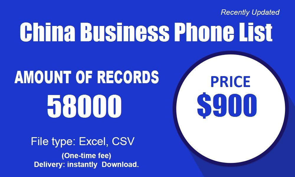 Kina Business Phone List