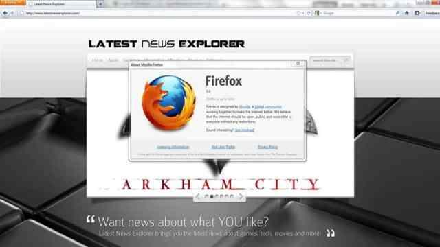 Firefox 5 released 1