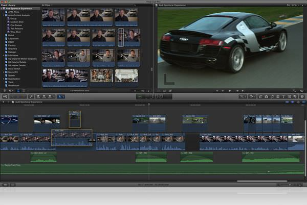 Apple releases Final Cut Pro X, Motion 5, Compressor 4