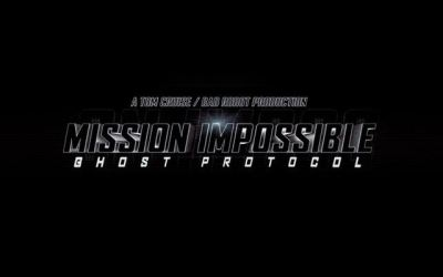 The First Teaser For Mission: Impossible – Ghost Protocol Arrives