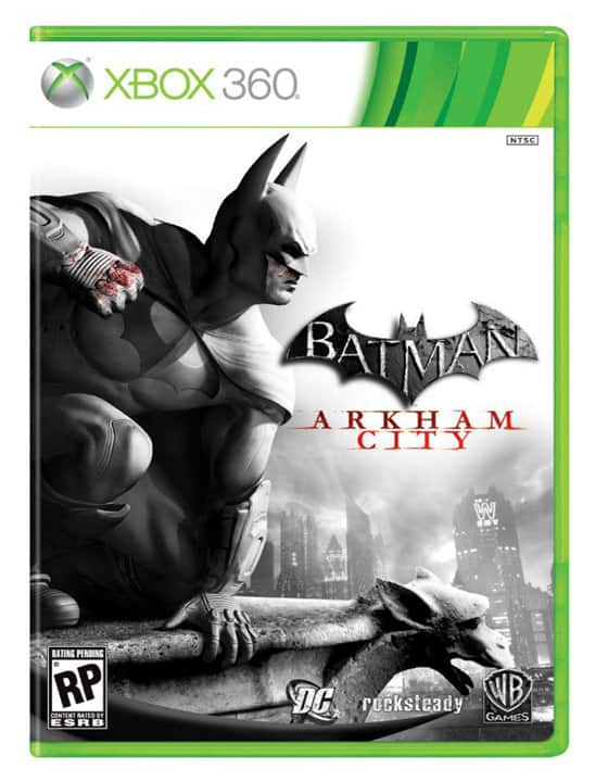 Batman: Arkham City's Box Art revealed 2