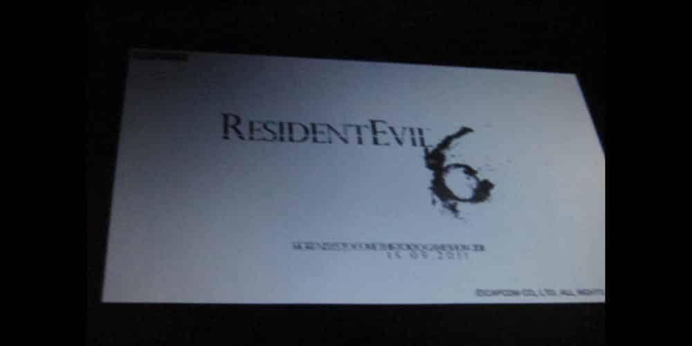 Rumor : Resident Evil 6 reveal at Tokyo Game Show this September