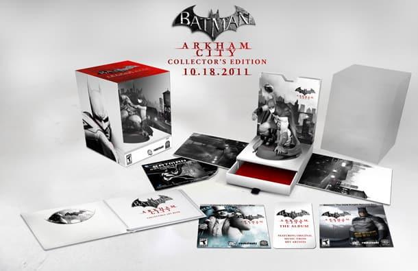 Details Of Batman : Arkham City's Collector's Edition Revealed 1