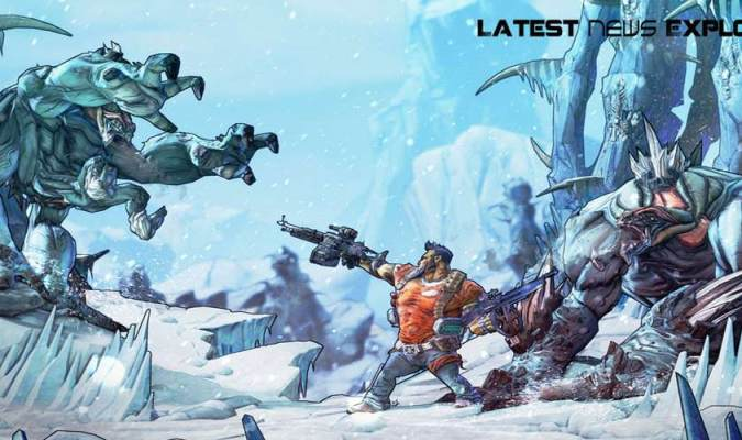Borderlands 2 Features Enemies Dropping From Moon 1