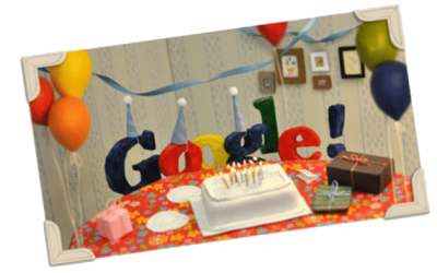 Google turns 13!