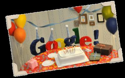 Google turns 13!
