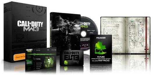 Modern Warfare 3 Hardened & Elite Edition Revealed