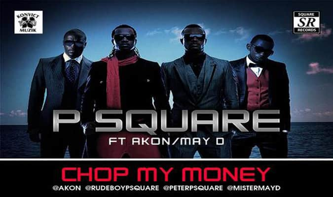 P Square Ft Akon & May D – Chop My Money (Music Video)