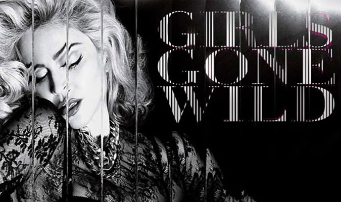 Madonna – Girl Gone Wild (Lyric Video)