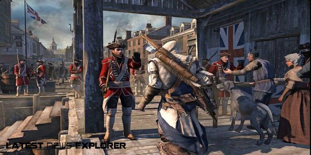 Assassin's Creed III – 'Boston Tea Party' Trailer