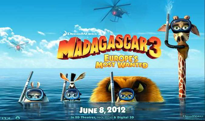 Madagascar 3: Europe's Most Wanted – Trailer #2