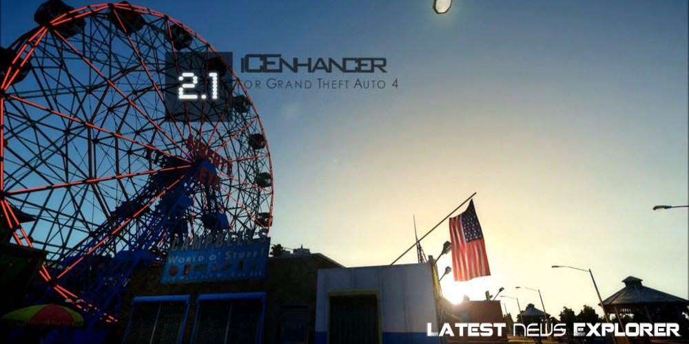 iCEnhancer 2.1 GTA IV Mod Better Than GTA V