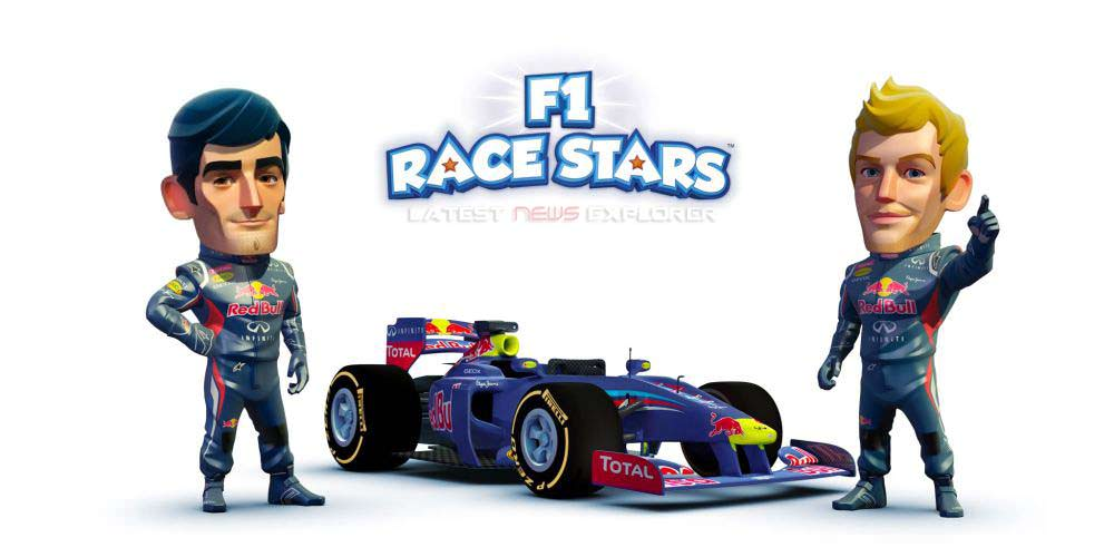 F1 Race Stars – Gameplay Trailer