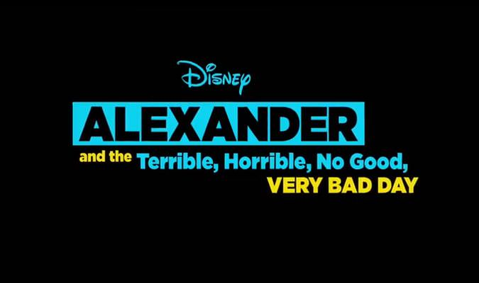 Alexander and the Terrible, Horrible, No Good, Very Bad Day – Trailer
