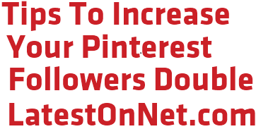 increase pinterest followers
