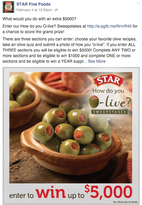 facebook_contest_examples