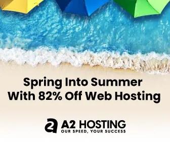 A2Hosting Summer Sale 2021