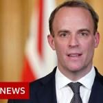 Coronavirus: Raab urges UK public not to ruin lockdown progress – BBC News