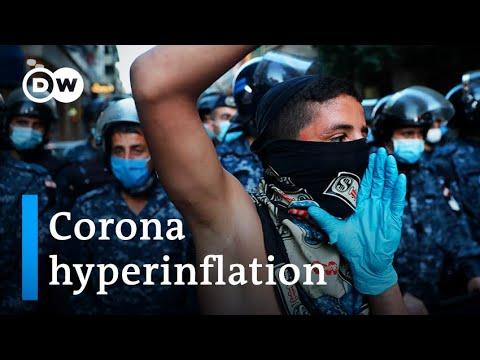 Angry protesters in Lebanon defy coronavirus lockdown | DW News