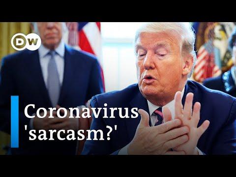 Will coronavirus disinfectant tip change Trump's press briefings? | DW Information