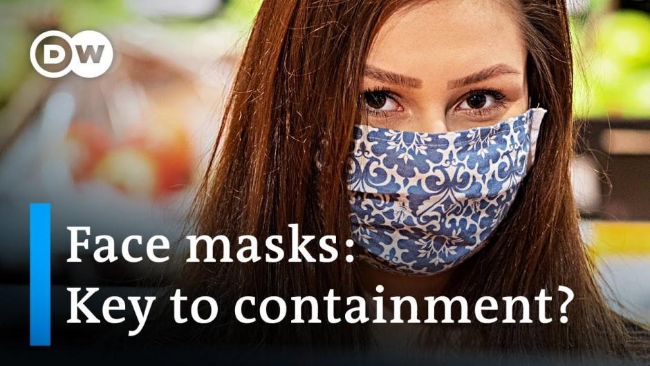Coronavirus: Nations debate over utilization of face masks | DW Information