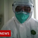 Coronavirus: British couple on cruise ship 'check constructive' – BBC Information